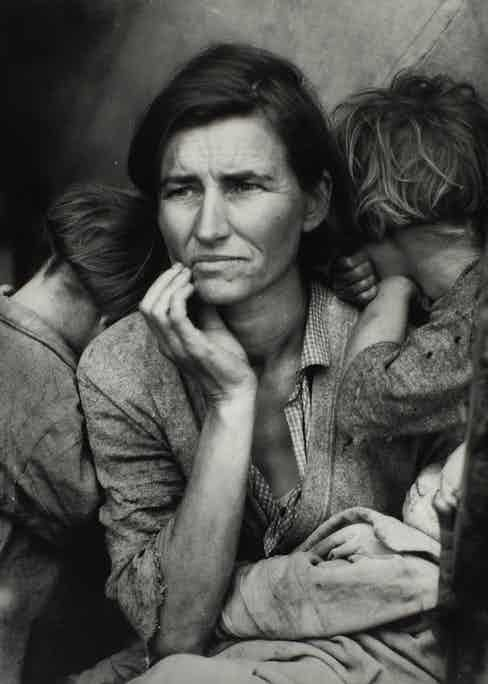 Migrant Mother, Dorothea Lange 1936.
