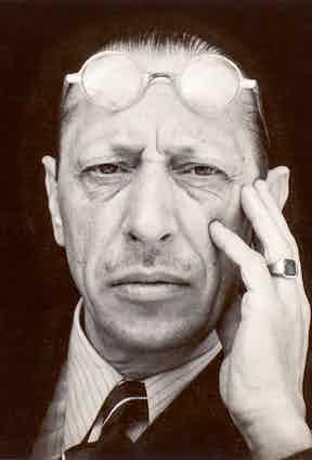 Igor Stravinsky, Edward Weston 1935.