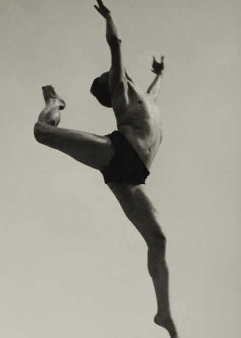 Ilse Bing Dancer, Willem Van Loon.