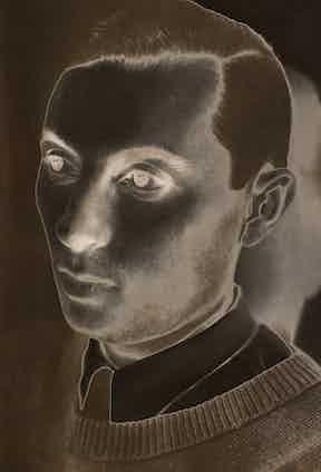 Solarised Man, Maurice Tabard 1930.