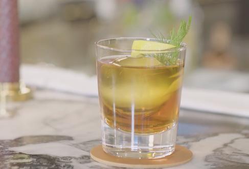 The Jukkasjarvi cocktail at Aquavit