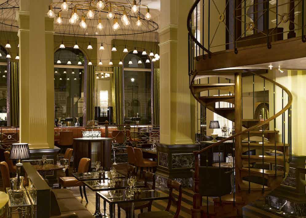 The Balcon restaurant at Sofitel St James