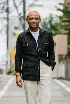 Neapolitan trouser maker, Salvatore Ambrosi
