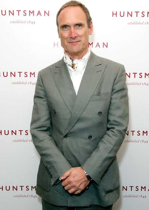 Adrian Anthony Gill at Huntsman Presents: Gregory Peck private view, London, 2014. Photo by JAB Promotions/REX/Shutterstock.