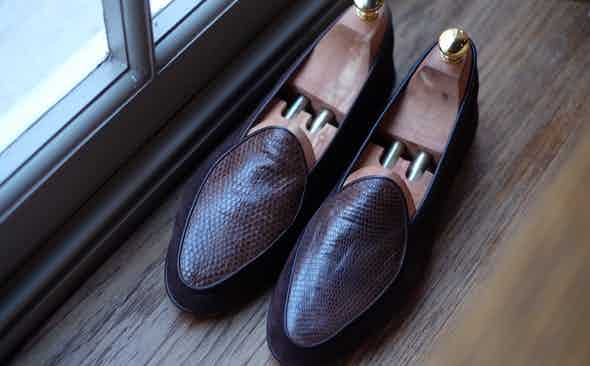 Baudoin & Lange for The Rake: The Luxe Sagan Loafer