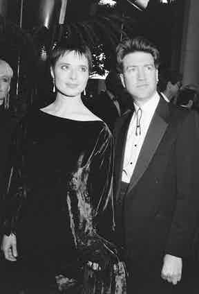 David Lynch and Isabella Rossellini at the Academy Awards, 1987. Photo by The LIFE Picture Collection/Getty Images.