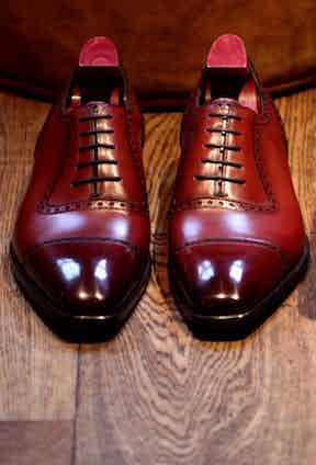 Gaziano & Girling Oxford Shoes. Photo by Justin Hast.
