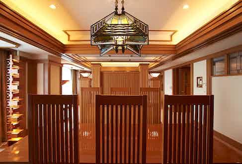 Frank Lloyd Wright Suite.