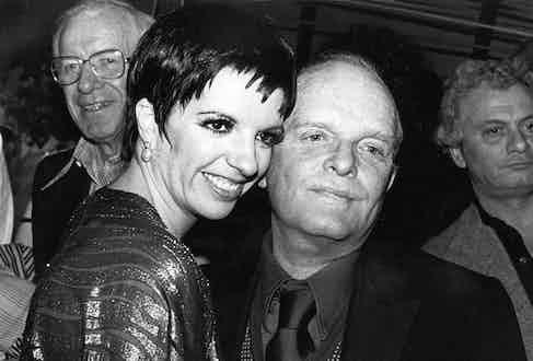 Liza Minneli and Truman Capote at Studio 54 in 1979.