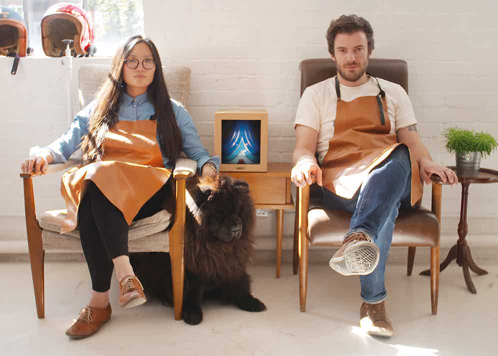 Lindsay Chong and Reginald Flint, co-founders of Hedon, in their London studio.