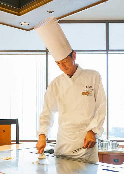 Teppanyaki Kamon Chef.