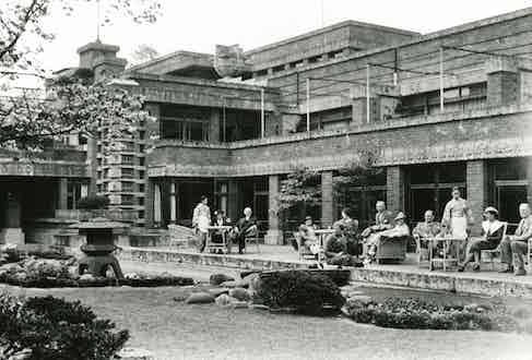 Frank Lloyd Wright Imperial Garden.