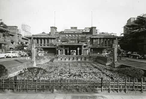 Frank Lloyd Wright's Imperial Hotel.