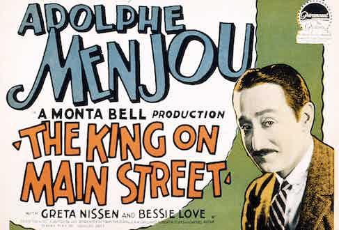 The King on Main Street, 1925