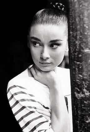 Audrey Hepburn, 1955. Paramount/REX/Shutterstock.