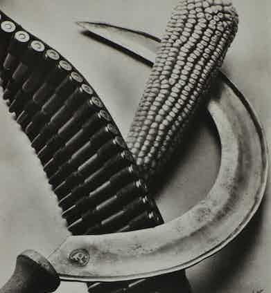 Bandelier Corn and Sickle, Tina Modotti 1927.