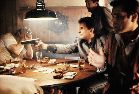 Goodfellas, 1990, directed by Martin Scorsese.