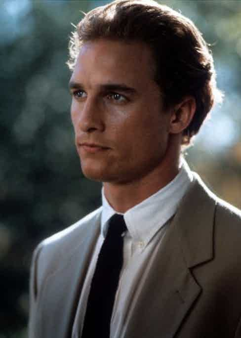 Matthew McConaughey in Time To Kill.