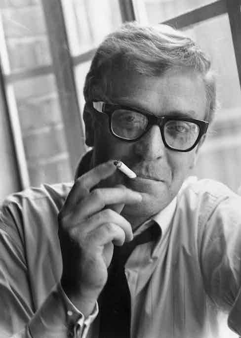 Michael Caine, 1965. Photo by Express/Express/Getty Images.
