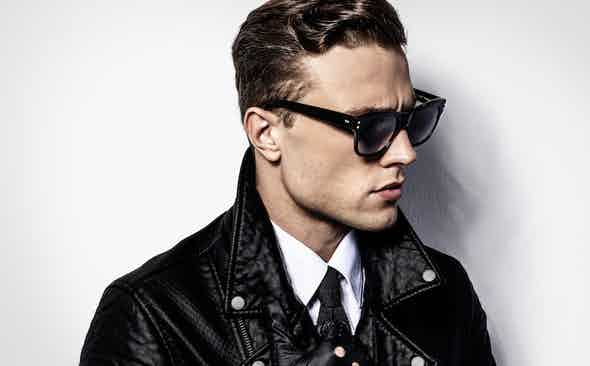 Oliver Goldsmith for The Rake Eyewear Collection