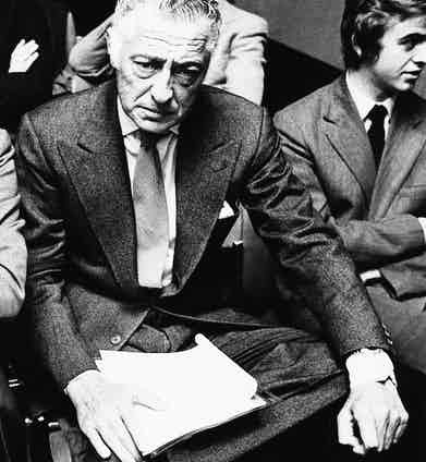 Gianni Agnelli, 1977. Photo by Archive Photos/Getty Images.