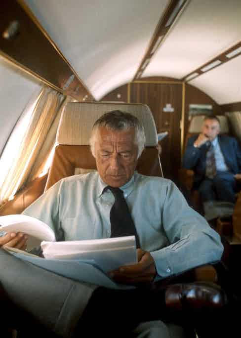 Gianni Agnelli, 1975. Photo by Team Editorial Services SRL/Rex/Shutterstock.