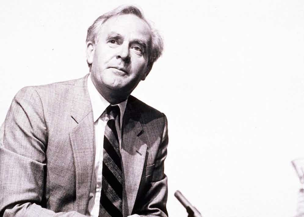 John le Carre in 1982. Photo by Sten M Rosenlund/REX/Shutterstock.