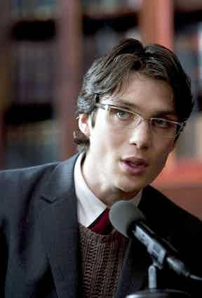 Cillian Murphy in Batman Begins, 2005. Photo by Warner Brothers/courtesy Everett Collection.