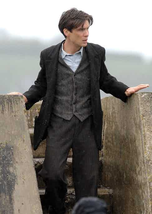 Cillian Murphy in 'The Best Time of our Lives' filming in New Quay, West Wales, 2007. Photo by REX/Shutterstock.