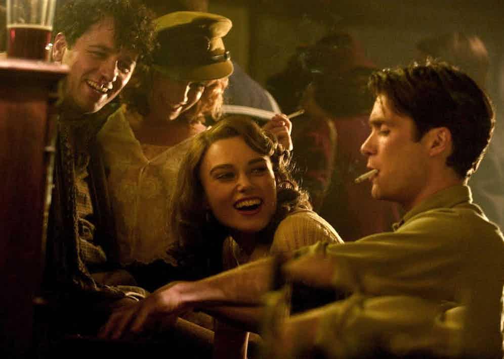 Sienna Miller, Keira Knightley, Cillian Murphy in The Edge Of Love, 2008. Photo by BBC Films/REX/Shutterstock.