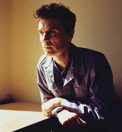 David Byrne. Photo by Eamonn McCabe/Redferns.