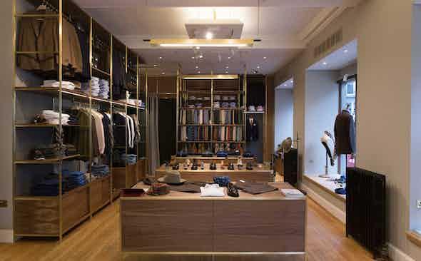 Michael Hill on Reinvigorating the Drake's Flagship Store