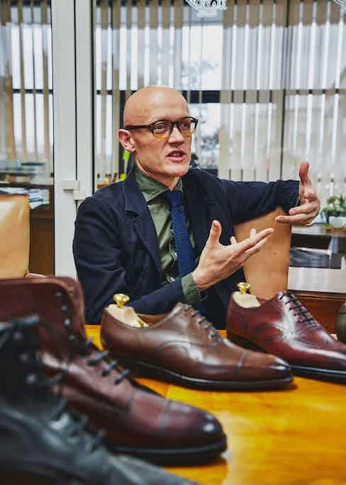 Euan Denholm, Edward Green's Brand & Business Development Manager. Photo by James Munro.