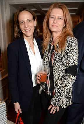 Nadine Kriesener and Fiona Swire
