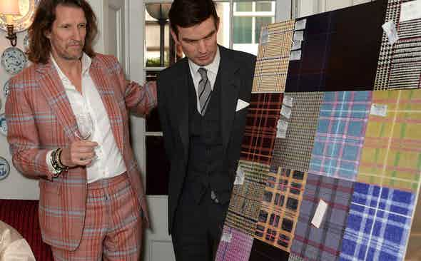 Huntsman Savile Row's Tweed Competition
