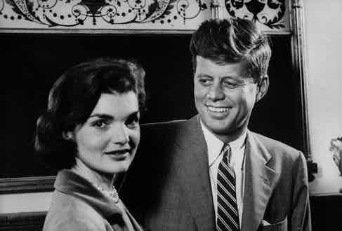 John F. Kennedy & Jackie Kennedy. Photo by Verner Reed/The LIFE Images Collection/Getty Images.