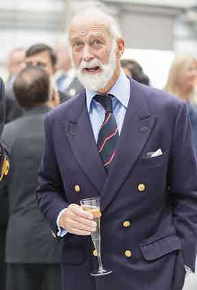Prince Michael of Kent. Photo by DAVID HARTLEY/REX/Shutterstock.