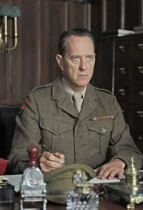 Richard E. Grant in Queen and Country, 2014. Photo by Sophie Mutevelian/Merlin Fil/REX/Shutterstock.
