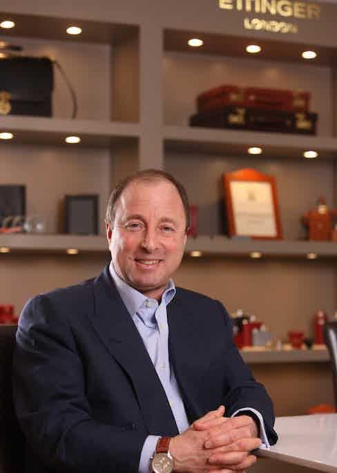 CEO Robert Ettinger.