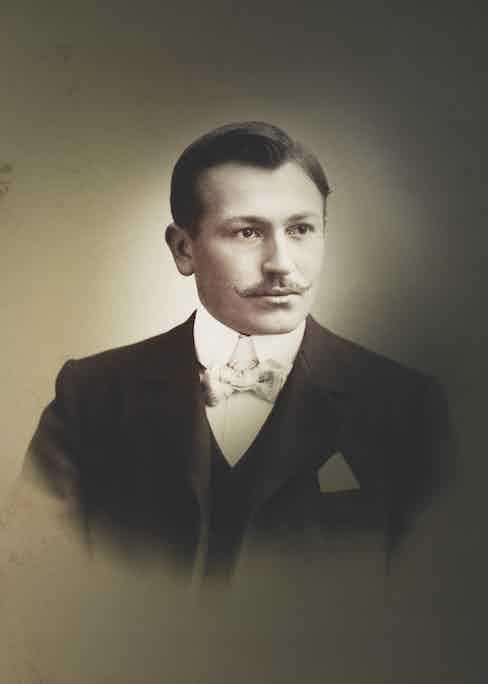 Hans Wilsdorf, Founder of Rolex, © Rolex.