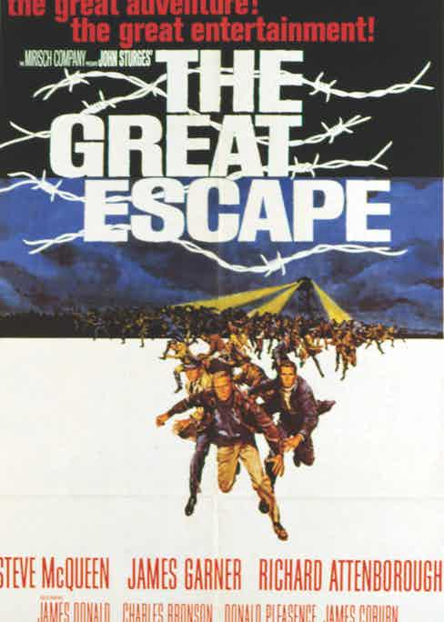 Hollywood's own version of the Great Escape from Stalag Luft III.