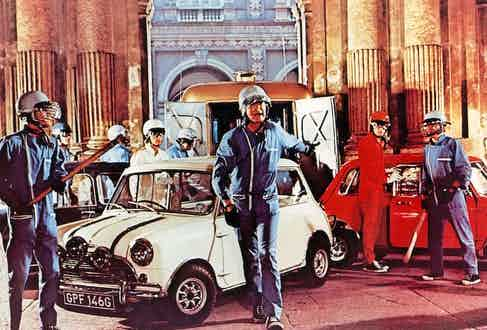 The Italian Job, 1969. Photo by Paramount/Oakhurst Productio/REX/Shutterstock.