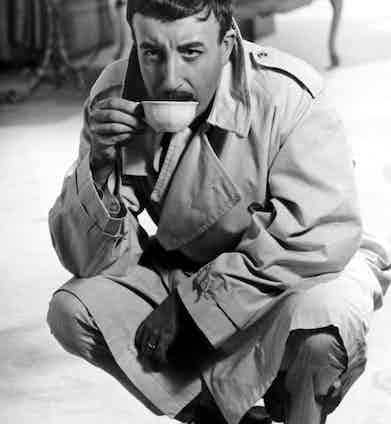 Peter Sellers in The Pink Panther, 1963. Photo by United Artists/REX/Shutterstock.