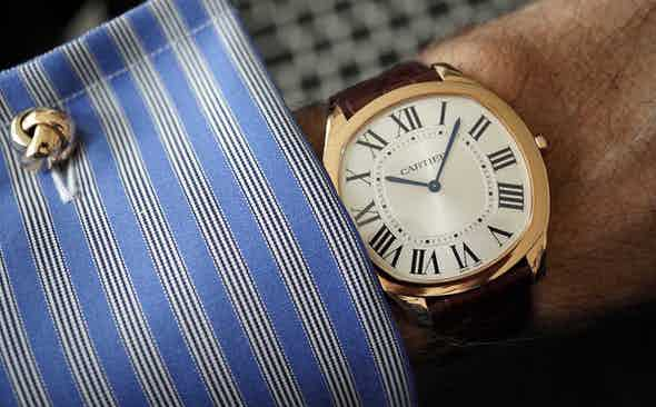 Night Out: Cartier's Drive Extra Flat