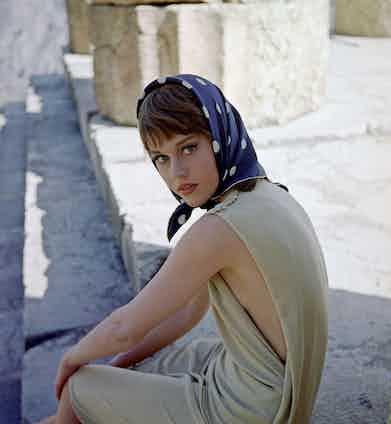 Jane Fonda, 1964. Photo by George Konig/REX/Shutterstock.
