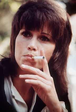 Jane Fonda, 1971. Photo by REX/Shutterstock.