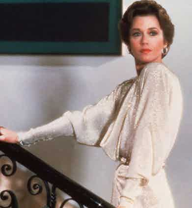 Jane Fonda, 1981. Photo by Orion/REX/Shutterstock.