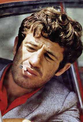 Jean-Paul Belmondo, 1965. Photo by Alamy.