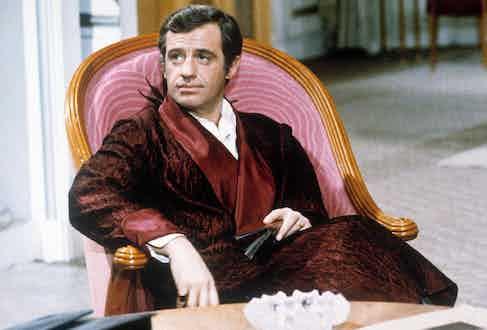 Jean-Paul Belmondo as Serge Alexandre in Stavisky, 1974. Photo by Alamy.