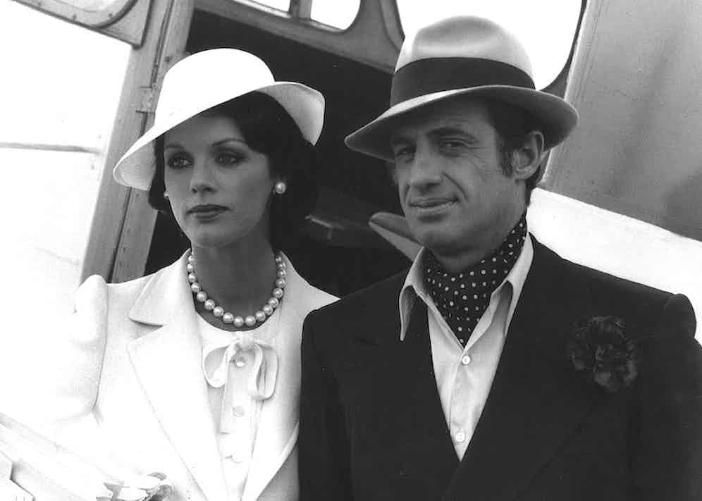 Jean-Paul Belmondo and Anny Duperey in Stavisky, 1974. Photo by Ariane/Cerito/REX/Shutterstock.